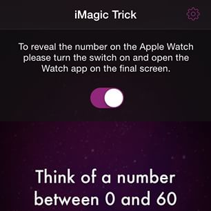 iMagic Trick - iPhone, iPad and Apple Watch App