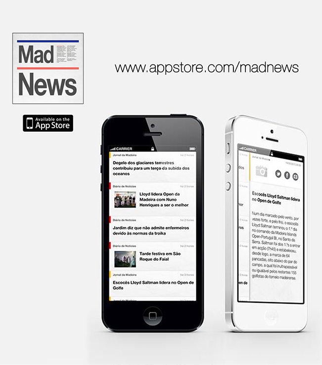 App iPhone/iPad - MadNews - Not�cias da Madeira