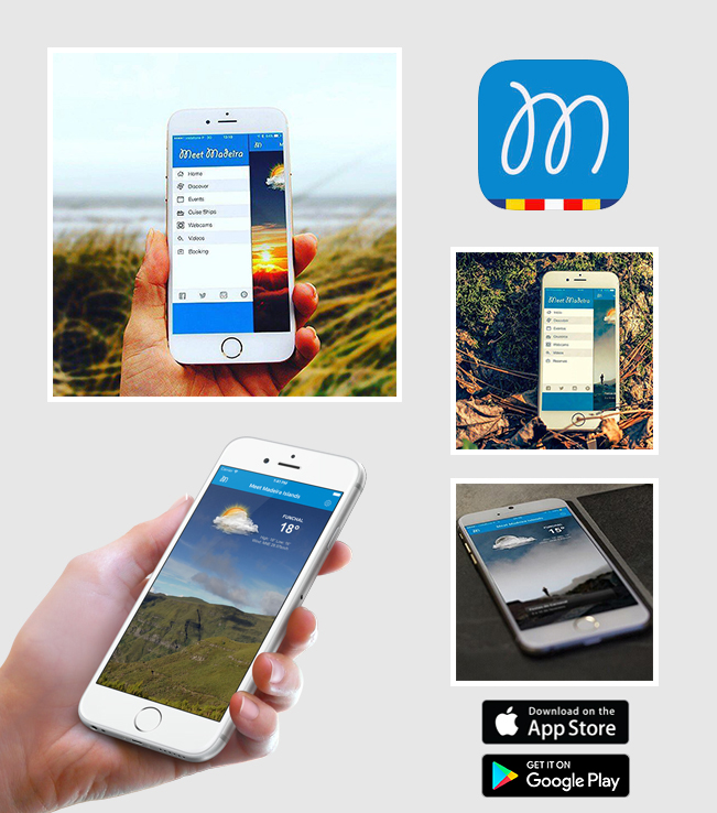 Android and iOS App /iPhone/iPad) - Meet Madeira Islands