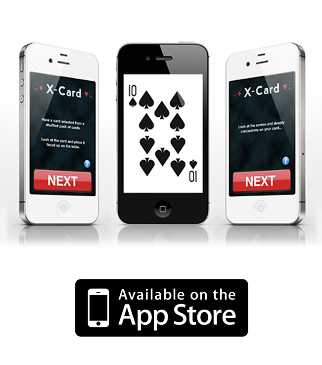 App iPhone/iPad - X-Card Trick